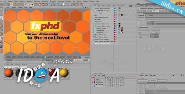 fxphd c4d101 introduction to cinema 4d 01 - C4D技能培训教程Fxphd C4D101 - Introduction to Cinema 4D