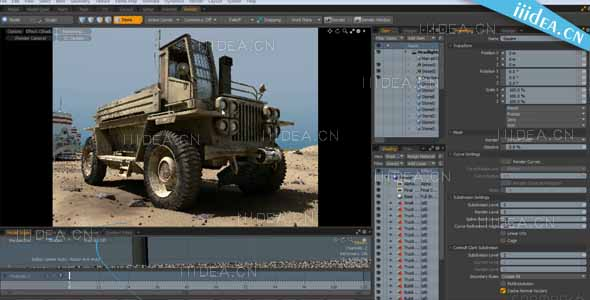 gnomon workshop 3d development modo 02 - MODO建模材质渲染教程 - 3D Look Development in MODO