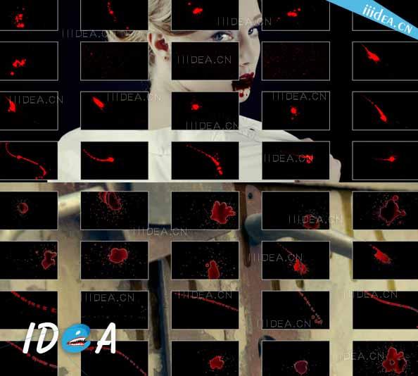 motionvfx msplatter 4k 01 - 4K水墨血液飞溅视频素材MotionVFX mSplatter 4K无损完整版