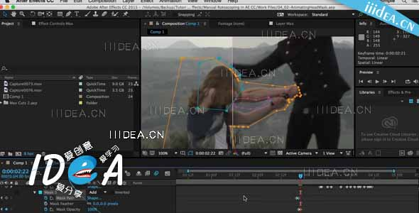 pluralsight after effects cc rotoscoping 01 - Adobe After Effects CC 2018 v15.0.1.73 x64 - 合成特效软件