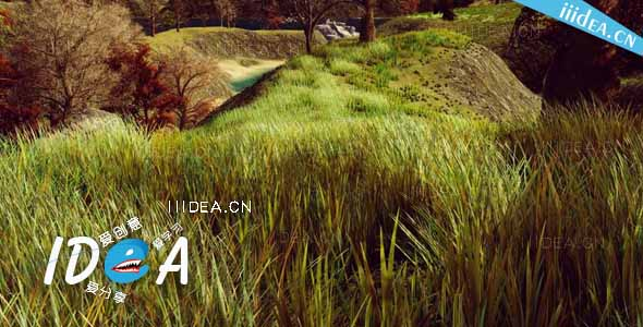 unity3d hq photographic textures grass pack vol 1 02 - HQ Textures Grass Pack v1.6 - Unity草纹理摄影包