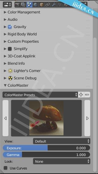 blender enrich colormaster 01 - Blender颜色管理插件Enrich ColorMaster v2.23
