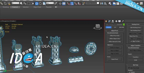 creating game ready modular structures in 3ds max 01 - 3DMax游戏建模教程Creating Game-ready Modular Structures in 3ds Max自由下载