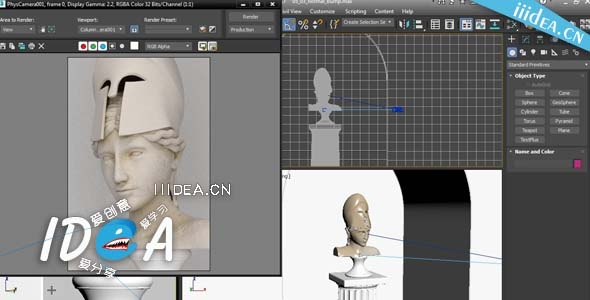 lynda 3ds max advanced materials 01 - 3DMax高级默认材质教程Lynda 3ds Max Advanced Materials自由下载