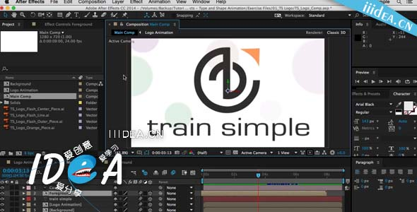pluralsight after effects cc shape and type animation undo 01 - 形状类型动画AE教程下载Pluralsight After Effects CC Shape and Type Animation Undo