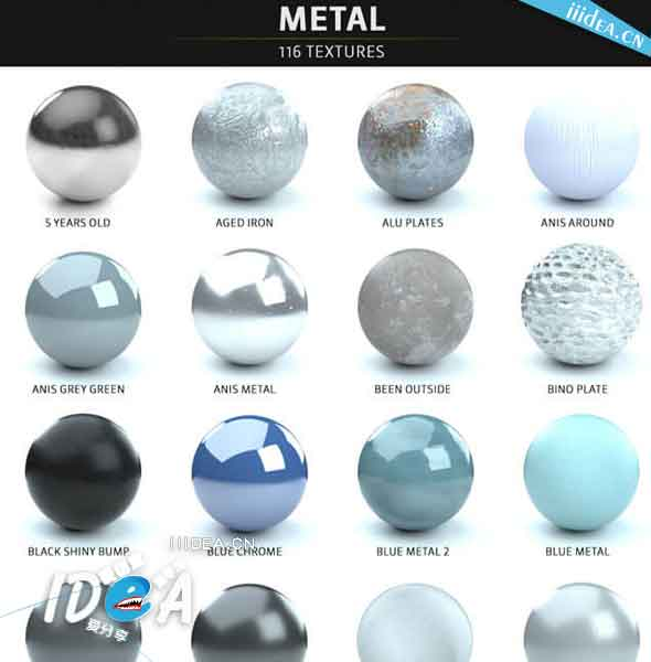 The Pixel Lab Material Pack zhan shi tu - C4D渲染器Octane材质包The Pixel Lab Material Pack for Octane