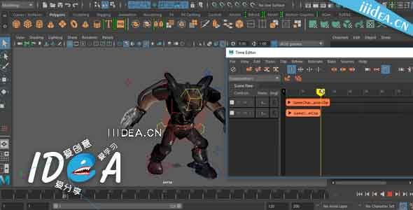 Pluralsight-Maya-Animation-Fundamentals-operating