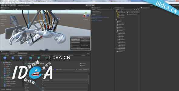 Unity3D-CaronteFX-effect