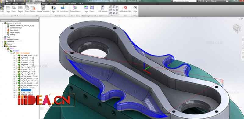 InventorCAM 01 - InventorCAM 2017 SP1 HF2 x64 - 机械设计软件