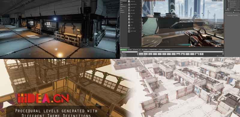 Dungeon Architect 01 - UnrealEngine 4 Dungeon Architect 4.18 - UE4地下城生成器插件